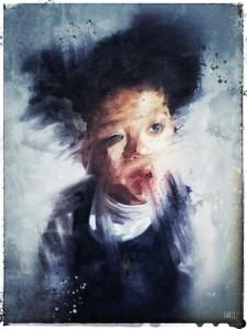 School Picture Day: art print by Jim Faris