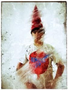 The Gnome: art print by Jim Faris